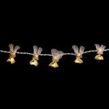 Feenlichter LED Lichterkette Engel Weiß Detail