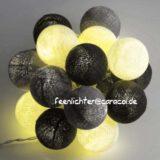 Baumwollball Feenlichter Lichterkette Bälle Ashes Beleuchtet
