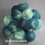 Baumwollball Feenlichter Lichterkette Bälle Laguna Beleuchtet