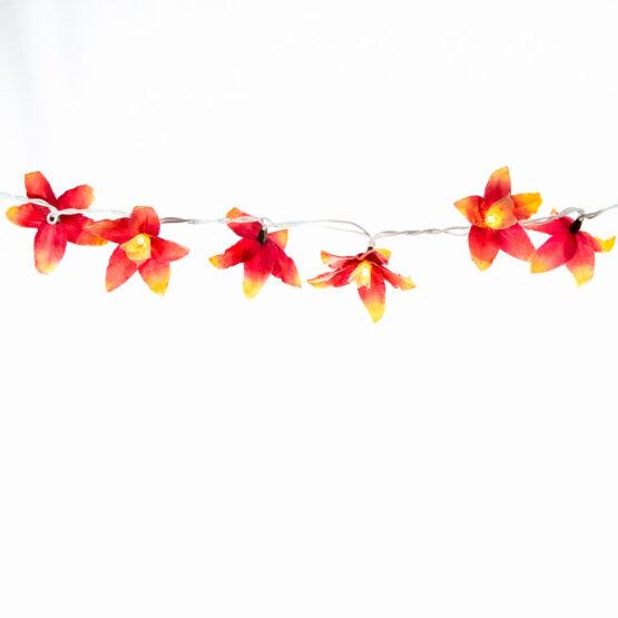 Feenlichter LED Lichterkette Lilien Fire Detail