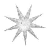 Sternenlicht Papierstern EdelWeiß 9 Zackig