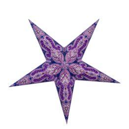 Sternenlicht Ganesh Lila Glitter 5 Zack