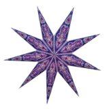Sternenlicht Ganesh Lila Glitter 7 Zack