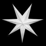 Sternenlicht Papierstern Venezia Weiss 7 Zackig Nachts
