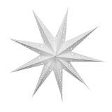 Sternenlicht Papierstern Venezia Weiss 9 Zackig