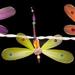 Feenlichter Libellen Rainbow Detail