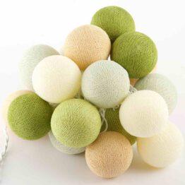 Baumwollball Feenlichter Lichterkette Bälle Fern