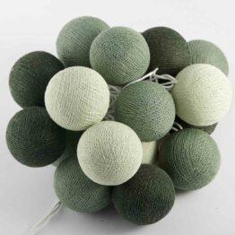 Baumwollball Feenlichter Lichterkette Bälle Seamist