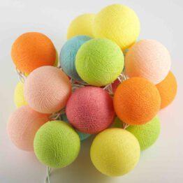 Baumwollball Feenlichter Lichterkette Bälle Spring