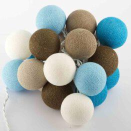 Baumwollball Feenlichter Lichterkette Bälle Winter