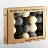 LED Lichterkette Feenlichter Cottonball Baumwollball Ashes Verpackung 20L