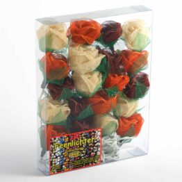 Feenlichter Rosen Groß Braun 20L Verpackung