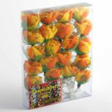 Feenlichter Rosen Groß Orange 20L Verpackung