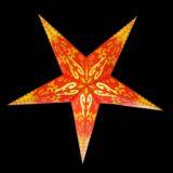 Sternenlicht Papierstern Curves 5 Zack Nachts