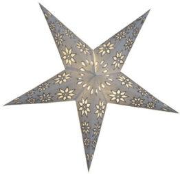 Sternenlicht Papierstern EdelWeiss 5 Zack