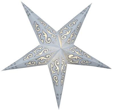 Sternenlicht Layla Weiss Glitter 5 Zack