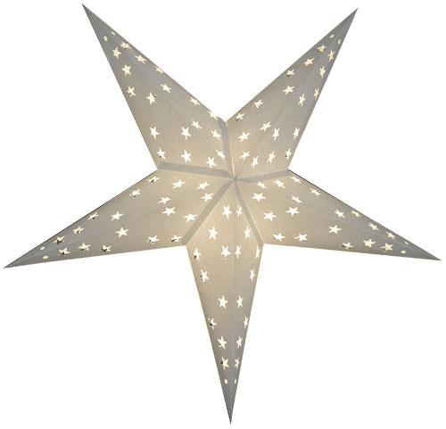 Sternenlicht Papierstern Stern Weiß 5 Zackig