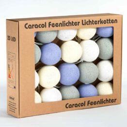 Baumwollball Feenlichter Lichterkette Bälle Provence Verpackung