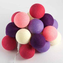 Baumwollball Feenlichter Lichterkette Bälle Candy Shop