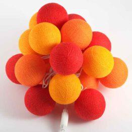 Baumwollball Feenlichter Lichterkette Bälle Fire