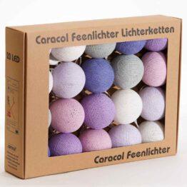 Baumwollball Cottonball Lichterkette Feenlichter Berries Verpackung 20L