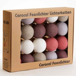 Baumwollball Cottonball Lichterkette Feenlichter Mangusteen Verpackung 20L