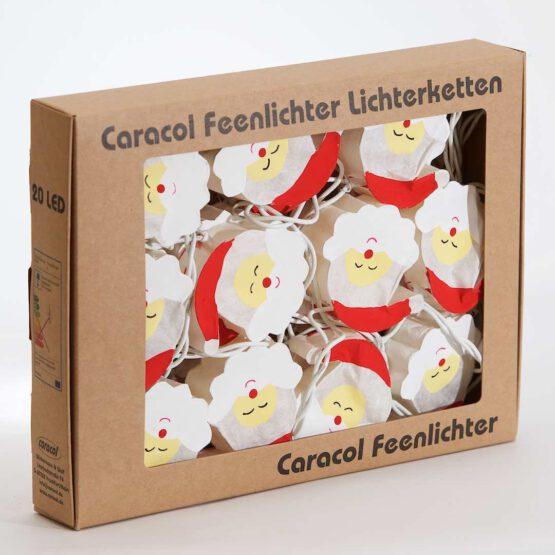 LED Lichterkette Feenlichter Santa Claus