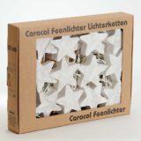 LED Lichterkette Feenlichter Sterne Weiss Verpackung