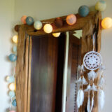 Cottonball LED Lichterkette Vintage Dekoration
