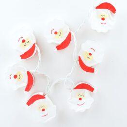 Feenlichter LED Lichterkette Santa Claus