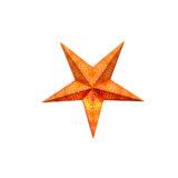Sternenlicht Papierstern Cyclone New Orange 5 Zackig Baby