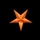 Sternenlicht Papierstern Cyclone New Orange 5 Zackig Baby Nachts