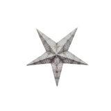 Sternenlicht Papierstern Cyclone New Silber 5 Zackig Baby