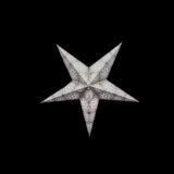 Sternenlicht Papierstern Cyclone New Silber 5 Zackig Baby Nachts