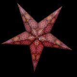 Sternenlicht Papierstern Cyclone New Brown 5 Zackig Nachts