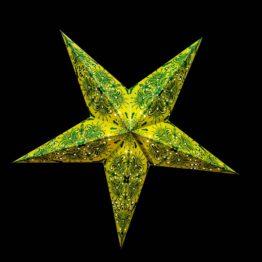 Grüne und Türkise Sterne