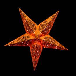 Gelbe und Orange Sterne