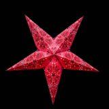 Sternenlicht Papierstern Queen Rosa 5 Zackig