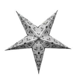 Sternenlicht Papierstern Queen Weiss 5 Zackig