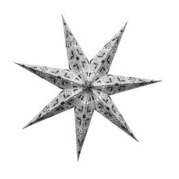 Sternenlicht Papierstern Queen Weiss 7 Zackig