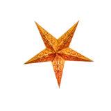 Sternenlicht Spirale bestickt Orange 5 Zack Baby