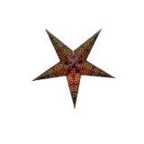 Sternenlicht Papierstern Sydney Braun 5 Zackig Baby