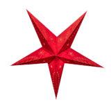 Sternenlicht Papierstern Venezia Rot 5 Zackig