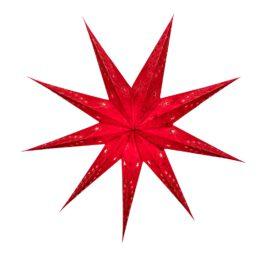 Sternenlicht Papierstern Venezia Rot 9 Zackig