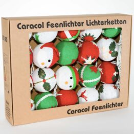 Baumwollball Feenlichter LED Lichterkette Bälle Merry Christmas