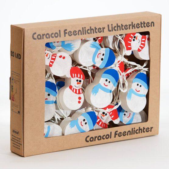 Feenlichter Lichterketten LED Schnemann 20L Neue Verpackung