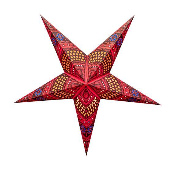Sternenlicht Papierstern Flower Arcade 5 Zackig