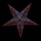 Sternenlicht Papierstern Honululu 5 Zackig Nachts