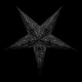 Sternenlicht Papierstern Kali 5 Zackig Nachts