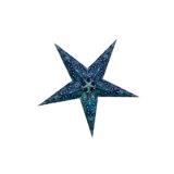 Sternenlicht Mandala Zari Türkis Glitter 5 Zack Baby